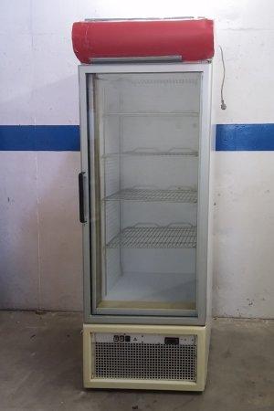 Nevera amb porta de vidre de 200cm d'ocasió a cabauoportunitats.com