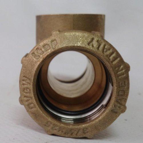 """Ràcor T femella 3/4"""" ø25mm (6 uts) d'ocasió a cabauoportunitats.com Balaguer - Lleida - Catalunya"""