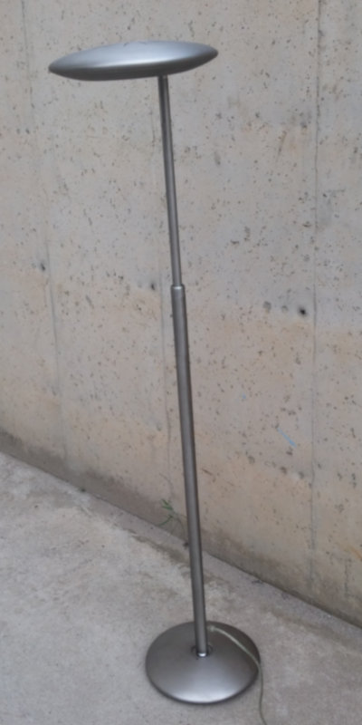 Làmpada auxiliar inox ø30x130cm d'ocasió