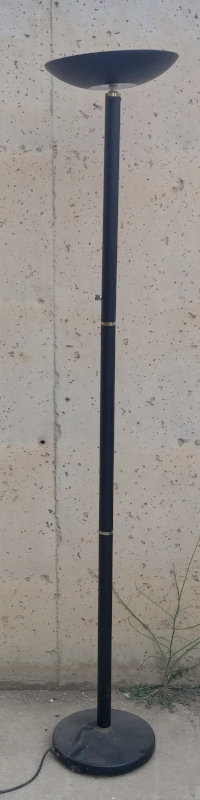 Lámpara auxiliar negra 178cm de ocasión en cabauoportunitats.com