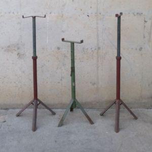 Caballetes de hierro de altura regulable en cabauoportunitats.com