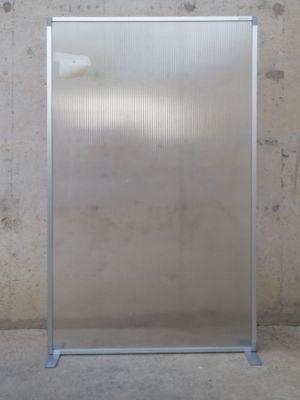 Separador translúcid 100x180cm d'ocasió a cabauoportunitats.com Balaguer - Lleida - Catalunya