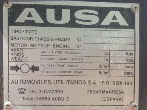 Toro AUSA CE 16 ↑340cm d'ocasió a cabauoportunitats.com Balaguer - Lleida - Catalunya