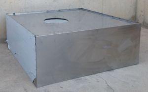 Campana d'inox per a cuina 120x50cm de segona mà a cabauoportunitats.com Balaguer - Lleida - Catalunya