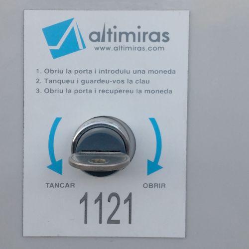 Mòdul 8 taquilles amb moneder d'ocasió a cabauoportunitats.com Balaguer - Lleida - Catalunya