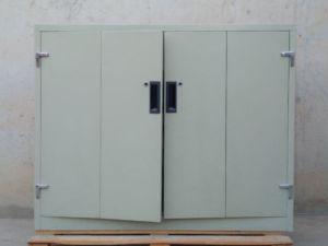 Armari metàl·lic portes plegables 125x45x100cm d'ocasió a cabauoportunitats.com Balaguer - Lleida - Catalunya
