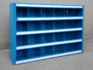 Calaixos metàl·lics per a organització 60x12x41cm d'ocasió a cabauoportunitats.com Balaguer - Lleida - Catalunya