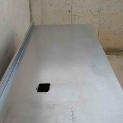Nevera mostrador d'acer inoxidable 149cm d'ocasió a cabauoportunitats.com Balaguer - Lleida - Catalunya