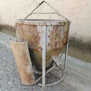 Cubeta de formigó ø100x110cm de segona mà a cabauoportunitats.com Balaguer - Lleida - Catalunya