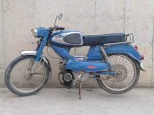 Venda d'una moto antiga TORROT TRONIC en molt bon estat per a exposició, restauració... a cabauoportunitats.com Balaguer - Lleida - Catalunya