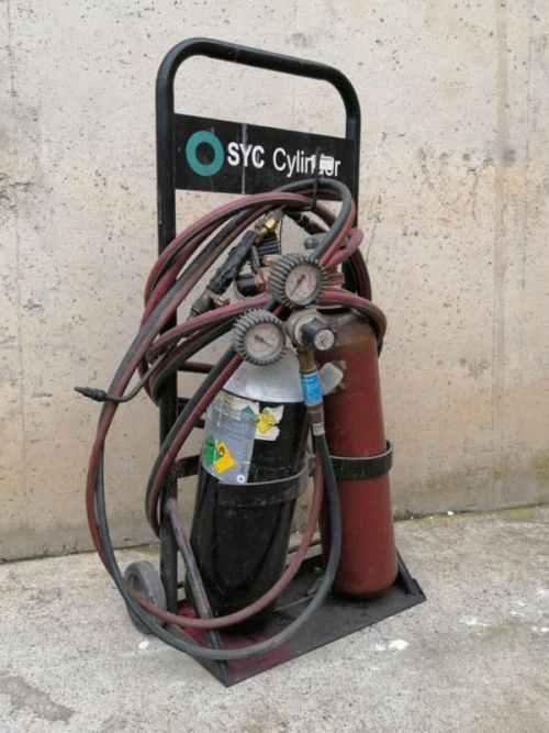 Bufador de gas SYC de segona mà en venda a cabauoportunitats.com Balaguer - Lleida - Catalunya