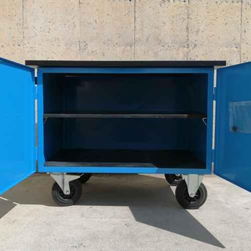 Carro de montaje de chapa de acero nuevo en venta en cabauoportunitats.com Balaguer - Lleida - Catalunya