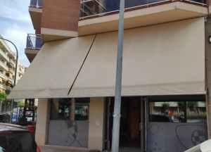 Tendal motoritzat 800x350cm amb penell de segona mà en venda a cabauoportunitats.com Balaguer - Lleida - Catalunya
