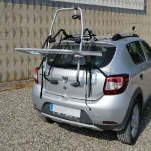 Porta-bicicletes per a cotxe amb capacitat per a 3 bicicletes en venda a cabauoportunitats.com Balaguer - Lleida - Catalunya