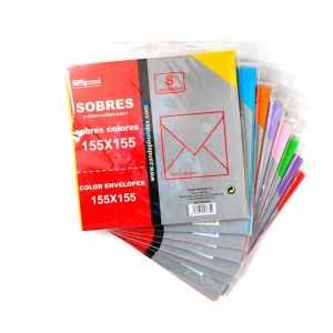 Lot de 216 sobres de colors nous d'ocasió en venda a cabauoportunitats.com Balaguer - Lleida - Catalunya
