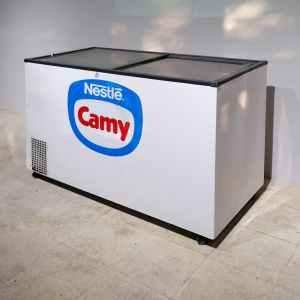 Congelador blanc de segona mà d'ocasió en venda a cabauoportunitats.com Balaguer - Lleida - Catalunya