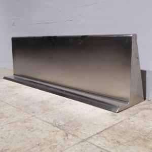 Prestatgeria d'acer inoxidable d'ocasió en venda a cabauoportunitats.com Balaguer - Lleida - Catalunya