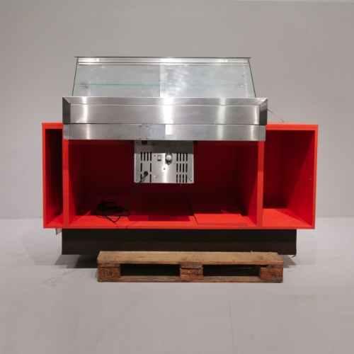 Congelador expositor de botiga de segona mà en venda a cabauoportunitats.com Balaguer - Lleida - Catalunya