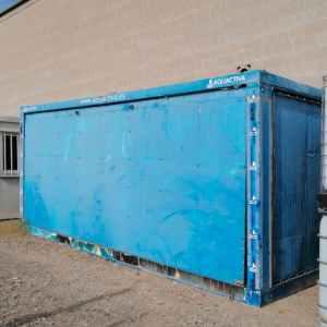 Mòdul caseta contenidor 600x240cm de segona mà en venda a cabauoportunitats.com Balaguer - Lleida - Catalunya
