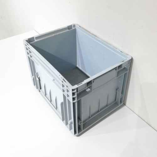 Caixa apilable de polipropilé de 30x40cm nova en venda a cabauoportunitats.com Balaguer - Lleida - Catalunya