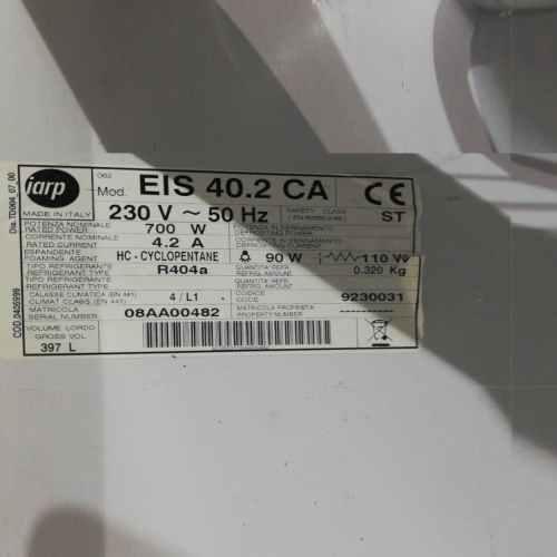Congelador expositor IARP de segona mà en venda a cabauoportunitats.com Balaguer - Lleida - Catalunya