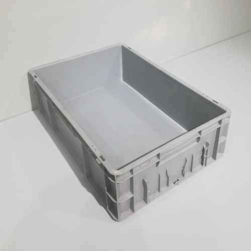 Caixa apilable de polipropilé nova de 60x40x17cm en venda a cabauoportunitats.com Balaguer - Lleida - Catalunya