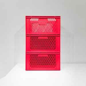 Lot de 3 caixes de reixa apilables de 60x40x32cm en venda a cabauoportunitats.com Balaguer - Lleida - Catalunya