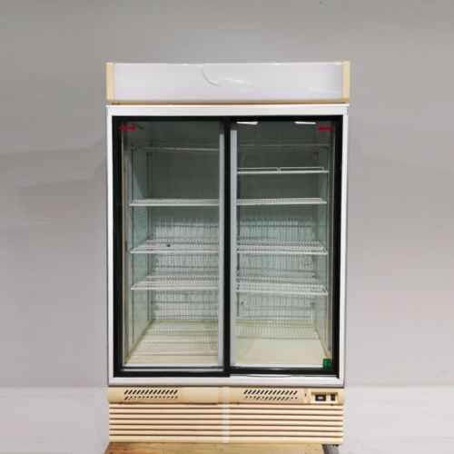 Nevera expositor de dues portes per a botiga en venda a cabauoportunitats.com Balaguer - Lleida - Catalunya