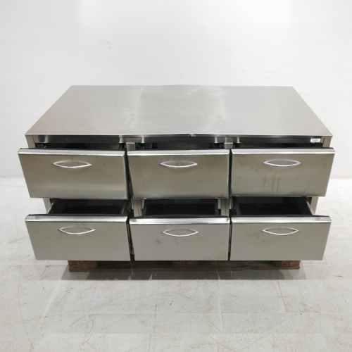 Armari d'acer inoxidable amb 6 calaixos de 127x71cm en venda ac abauoportuntiats.com Balaguer - Lleida - Catlaunya