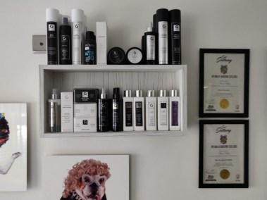 Wall display in Cabelo