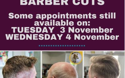 Barbers approaching Lockdown 2.0