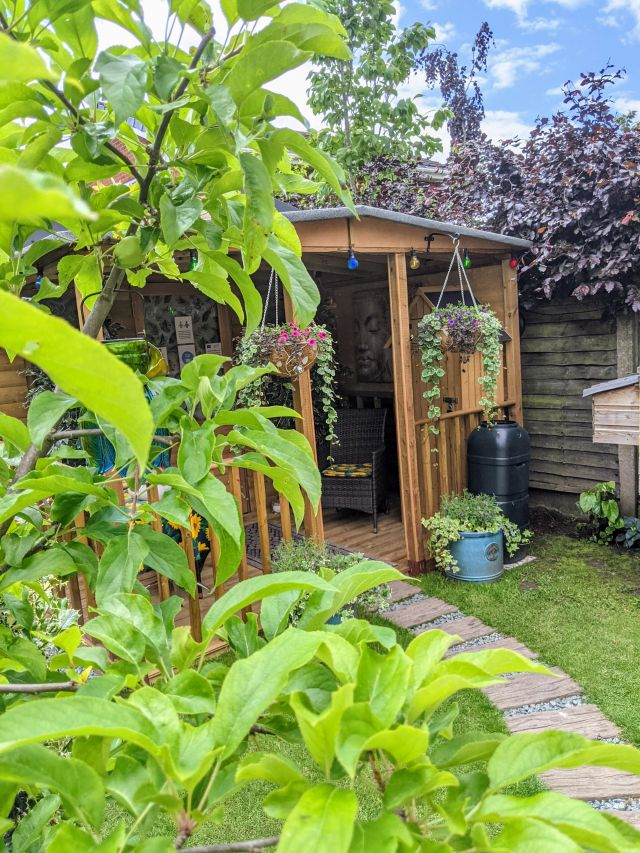 Garden Therapy Room at Cabelo in Tettenhall