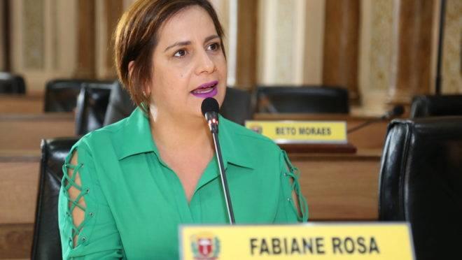 Vereadora Fabiane Rosa