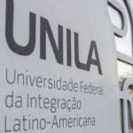 UNILA abre seleção para preencher 538 vagas em 24 cursos de graduação