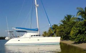 Lagoon 41 Cat, Caribbean Sailing