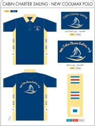 Cabin Charter Sailing Shirts
