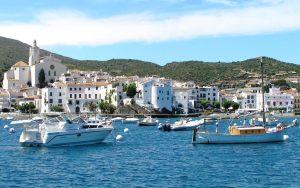Caaques, Costa brava, Spain Sailing