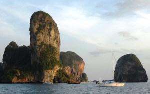 Rai Leh, Kabi, Phuket, Thailand Sailing
