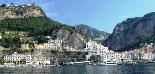 Sailing Amalfi, Italy