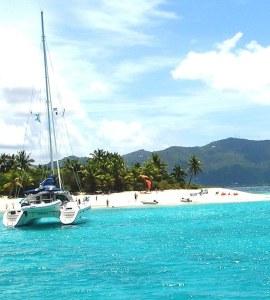 Sandy Cay, BVI Sailing