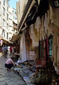 Corfu Town street 2
