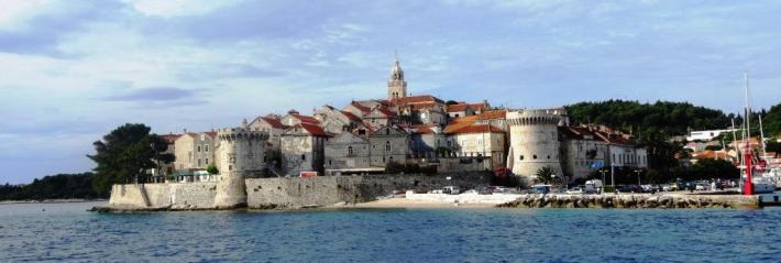 Old Town, Korcula, Croatia Sailing
