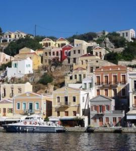 Symi Island, Greek S. Dodecanese Sail