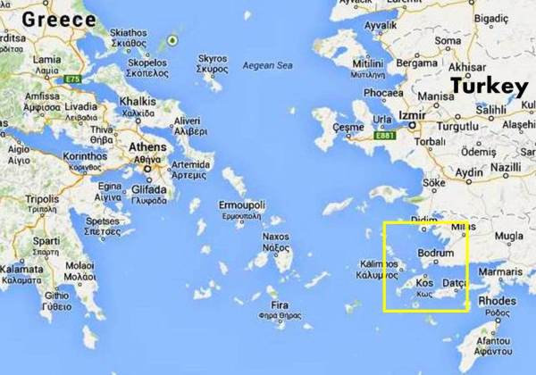 Kos, Dodecanese Sail Location