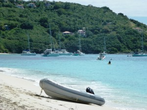 White Bay, BVI, CCS Sail