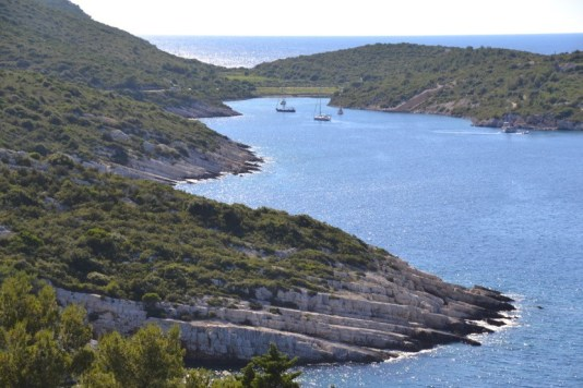 Secluded Bay on Vis, Croatia
