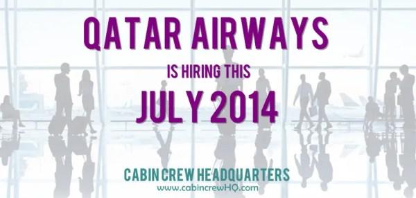 Qatar Airways Jobs Worldwide July 2014   Cabin Crew ...