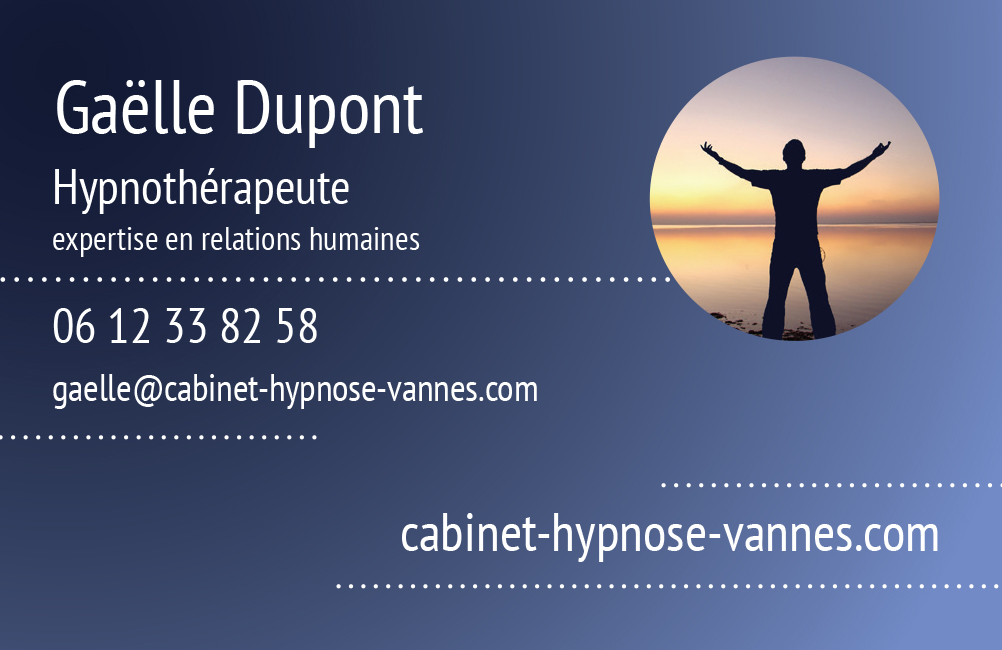 Carte Visite Gaelledupont Hypnosevannes