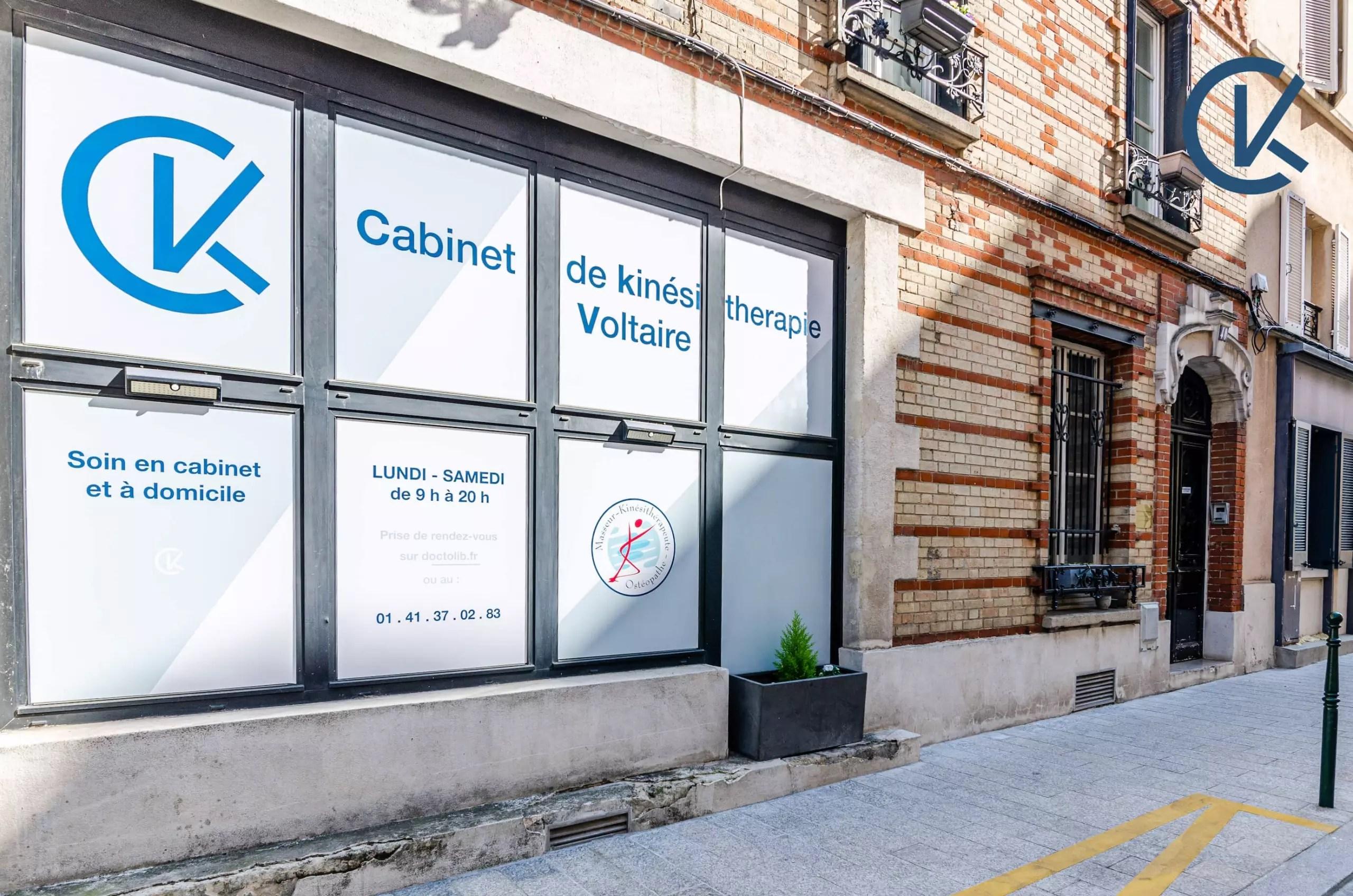 Facade extérieure du cabinet CKV