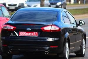 Что означают красные номера на автомобиле